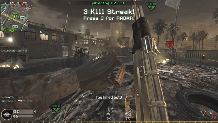 Call Of Duty 4 Modern Warfare Game Mod Cod4 Bot Warfare V