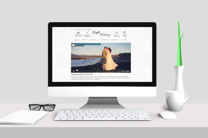 Gryffe Weddings Portfolio Site