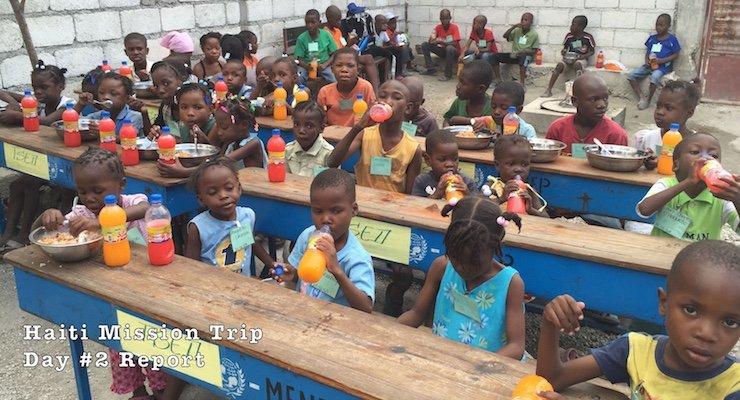 Children at Mama Denise's Orphanage