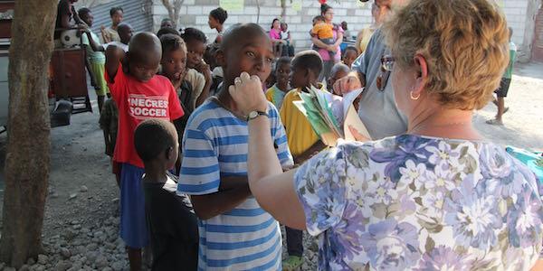 Medication distributed at Haitian Orphanage