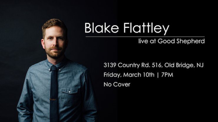 Blake Flattley Concert at Good Shepherd