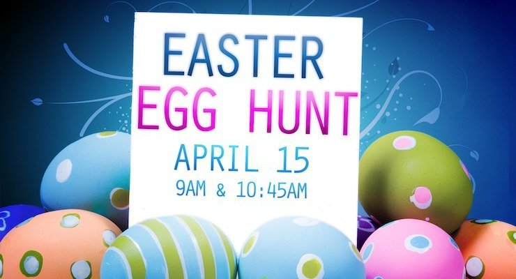 Easter Egg Hunt April 15 at Good Shepherd