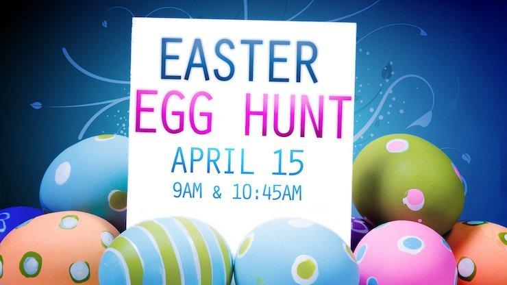 Easter Egg Hunt April 15 at Good Shepherd