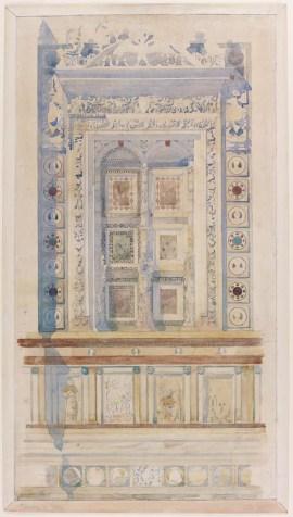 MC/G/1 - Blind Window, Certosa di Pavia by Charles Rennie Mackintosh