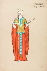 Lady Macduff, from Macbeth (Archive Reference: NMC/96/L)