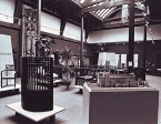 GSA Archives photograph of the museum on the first floor of the Mackintosh Building (Archive reference: GSAA/P/7/152)