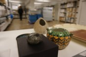 A selection of ceramics and metalwork from our holdings
