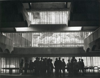 Photograph of St Peter's College from the Gillespie, Kidd & Coia Archive in the Glasgow School of Art Archives and Collections (Archive reference: GKC/CC/2/5/2)