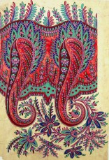 Untitled Paisley Shawl Design, GSA Archives and Collections (archive reference: DC/39/18)