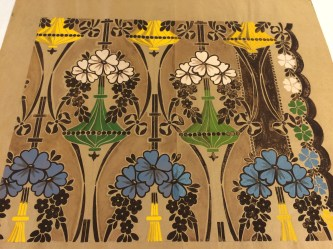 Design for Wallpaper, c1902-1903 by James Henry Porteous (archive reference: NMC/696)