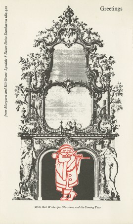 Christmas card from Margaret and Kit Grant, GSA Archives and Collections (DC029/5/2/34)