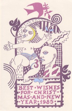 Best wishes, 1984, by James Cosgrove, GSA Archives and Collections (archive reference: DC073/1/40)