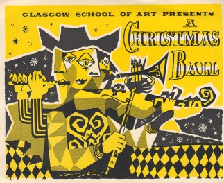 Glasgow School of Art presents a Christmas Ball, c1960s, GSA Archives and Collections (archive reference: DC073/1/42)
