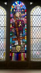 5. Stained glass window from St Peter's Church, Hyndland Road, Partick. Image courtesy of Ranald MacInnes, St Peter's Church.