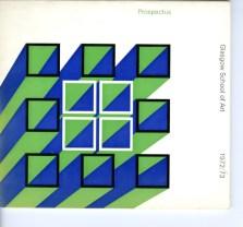 GSA Prospectus, 1972/73 (GSAA/REG/1)