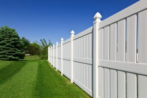 PVC Vinyl fences are very lightweight and easy to install!