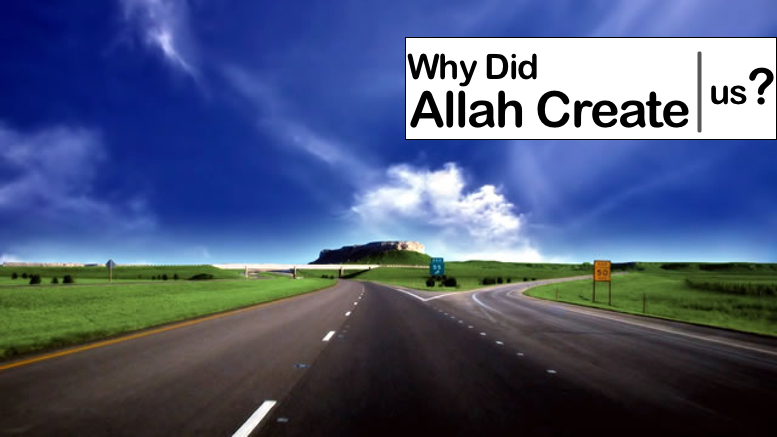 Why Did Allah Create Us? - GSalam.Net