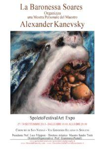 Alexander MANIFESTO ALEXANDER KANEVSKY