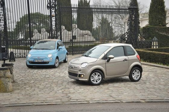 Bellier B8 et Fiat 500
