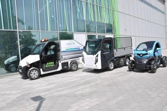 Ligier Pulse 4 Comarth T-Truck et Renault Twizy Cargo