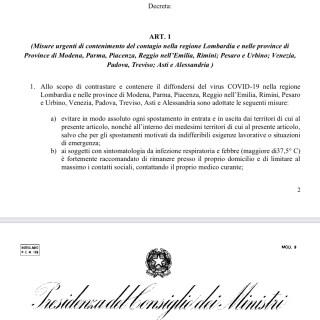 """Decreto CoronaVirus 08/03/2020 l'Apocalisse dei """"Ladri di merendine"""" dal nord verso il sud"""