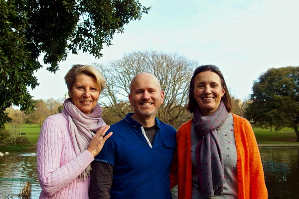 Lucy Agace, Martin Farley and Clare Rainey