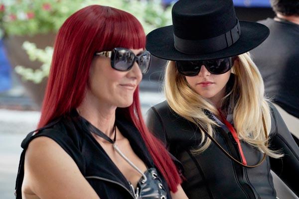Laura Dern as Laura Albert and Kristen Stewart as Savannah Knoop in the new film 'JT LeRoy.'