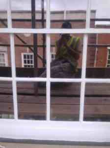 commercial painting sash windows