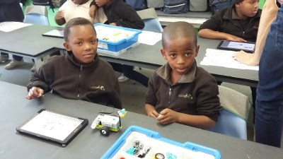 Team4Tech visit transforms tech learning at Vision AfriKa Primary School