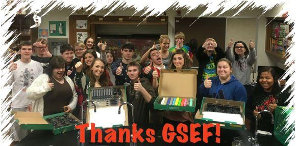 Thanks GSEF!