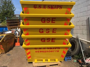 The New Skips for Hire from GSE Skips Ltd