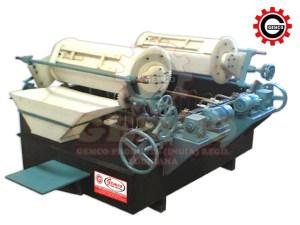 Fully Submersed Motorised Twin Barrel (Acid Zinc Plating)