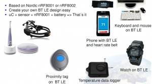 Bluetooth Smart Applications1 300x167 Comparison of NFC, Classic Bluetooth, Bluetooth Smart and WLAN