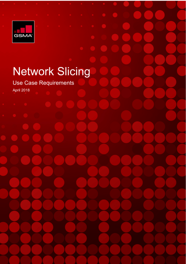 Network Slicing: Use Case Requirements image