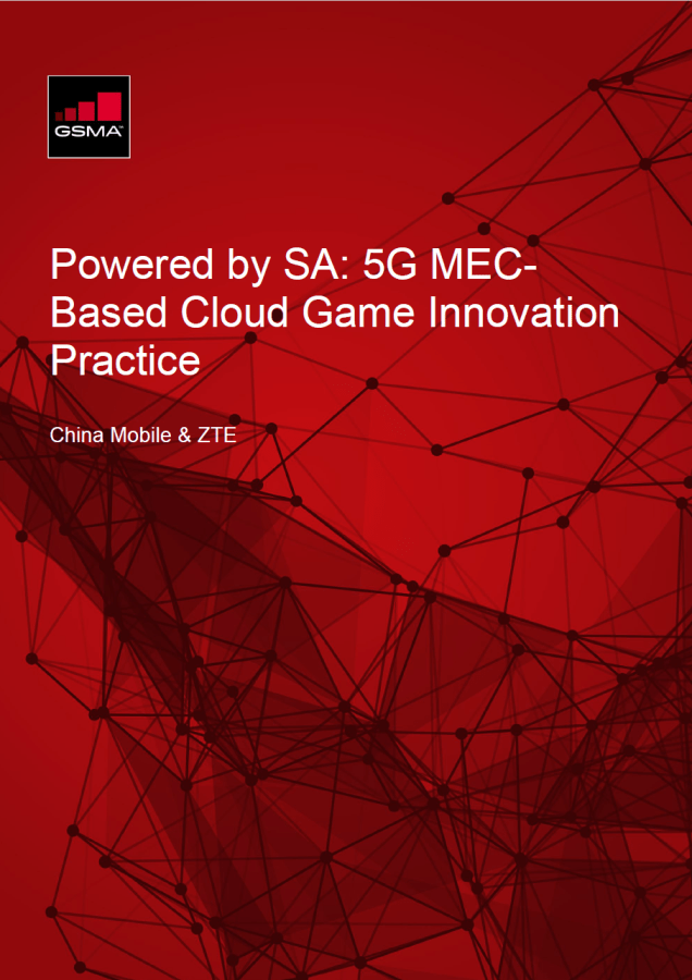 Powered by SA: 5G MEC-Based Cloud Game Innovation Practice image