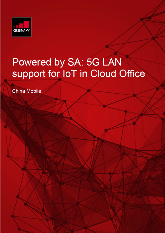 Powered by SA: 5G LAN support for IoT in Cloud Office image
