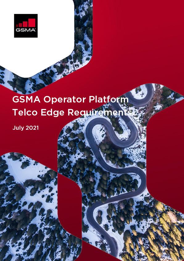 GSMA Operator Platform Telco Edge Requirements 2021 image