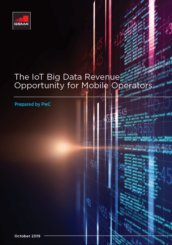 The IoT Big Data Revenue Opportunity for Mobile Operators image