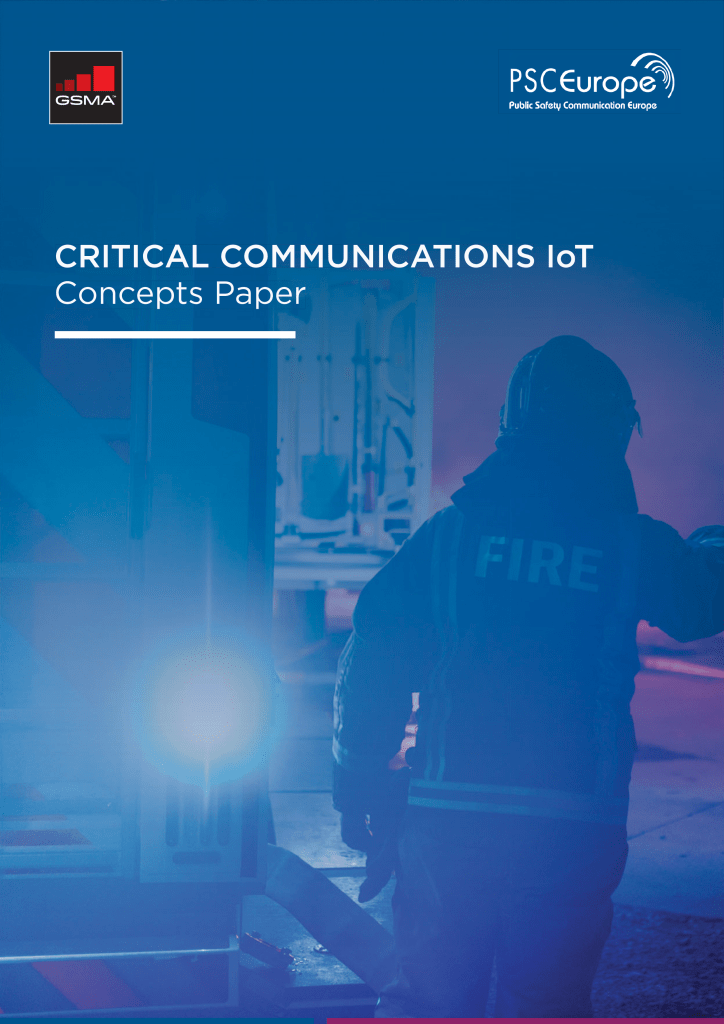 Critical Communications IoT Concepts Paper image