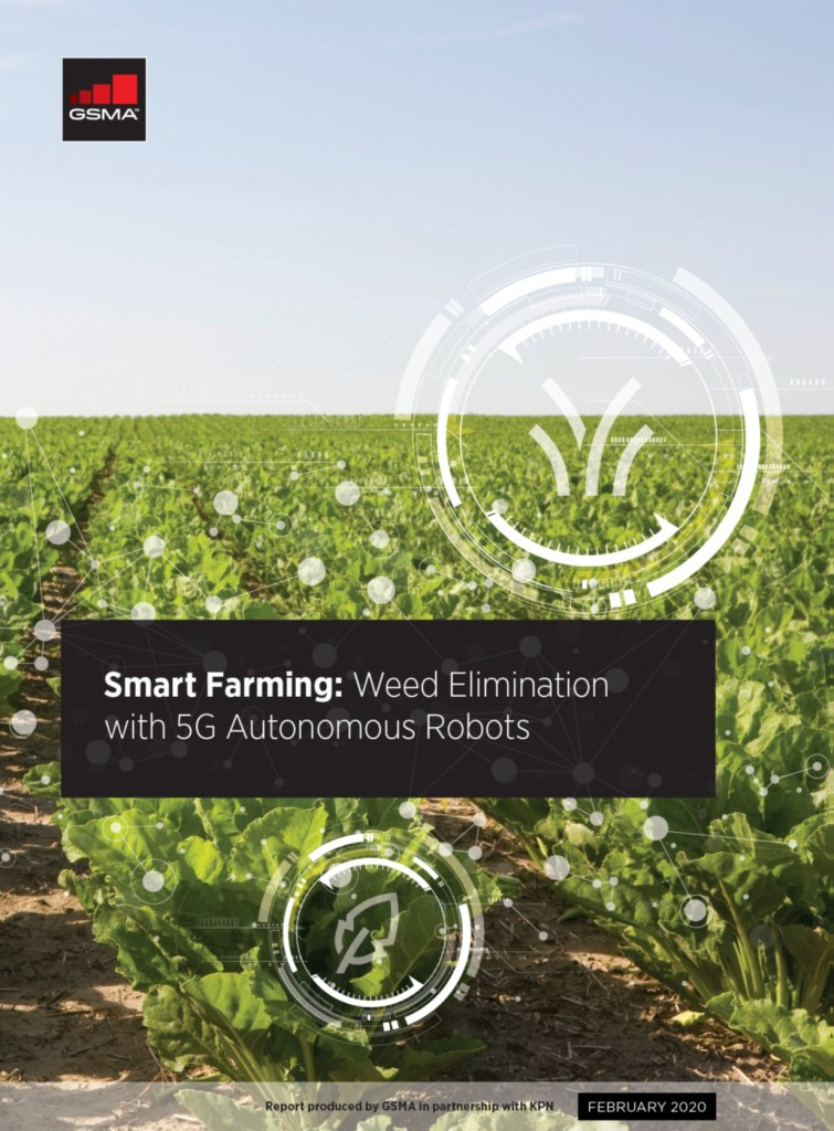 Smart Farming: Weed Elimination with 5G Autonomous Robots, by KPN image