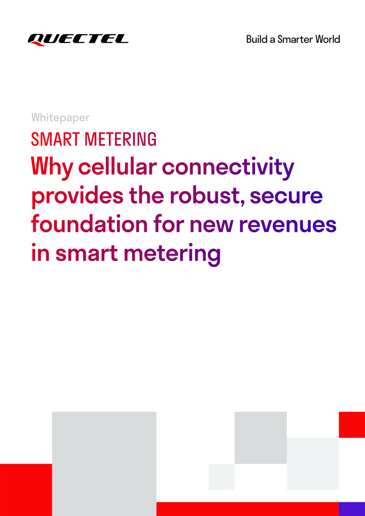 Why cellular connectivity provides the robust, secure foundation for new revenues in smart metering image
