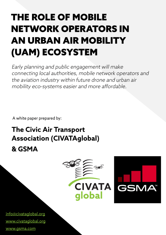 The Role of Mobile Network Operators in an Urban Air Mobility (UAM) Ecosystem image