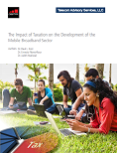 The Impact of Taxation on the Development of the  Mobile Broadband Sector image