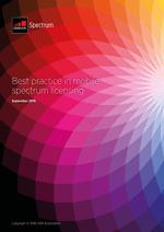 Melhores práticas em licenciamento de espectro móvel image