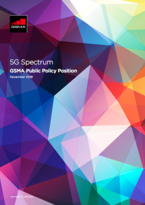 5G Spectrum GSMA Public Policy Position image