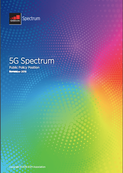 5G Spectrum Public Policy Position image