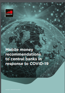 Mobile money recommendations to central banks in response to COVID-19 image