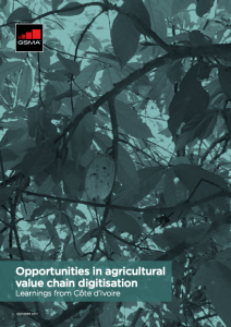 Opportunities in agricultural value chain digitisation: Learnings from Côte d'Ivoire image