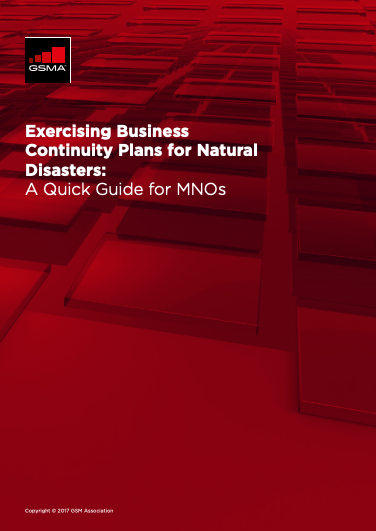 Exercising Business Continuity Plans for Natural Disasters: A Quick Guide for MNOs image