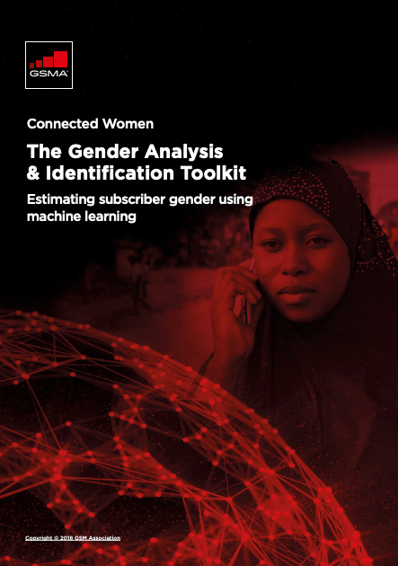 The GSMA's Gender Analysis and Identification Toolkit (GAIT) image